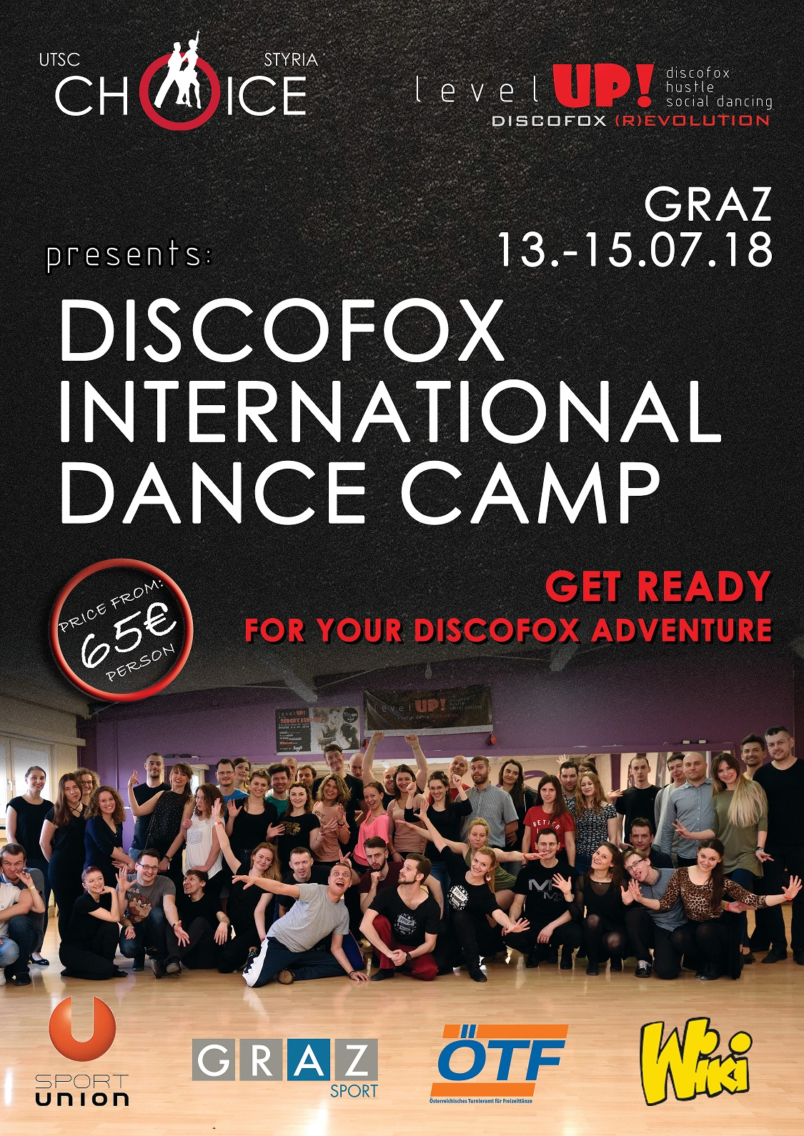 discofox dance camp
